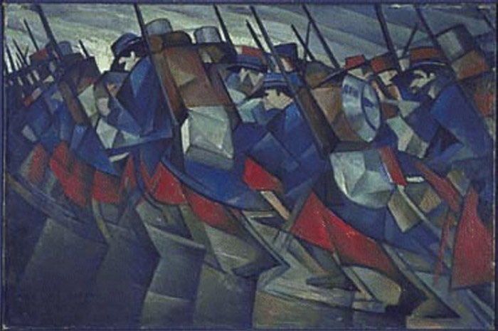 Christopher Nevinson, 1914.