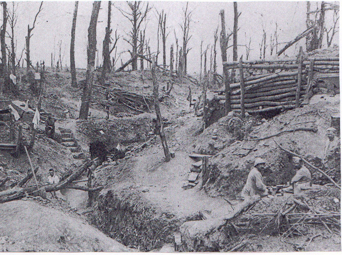 An entrenchment at Ritour.