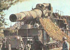 Camouflaged 305 mm rail gun