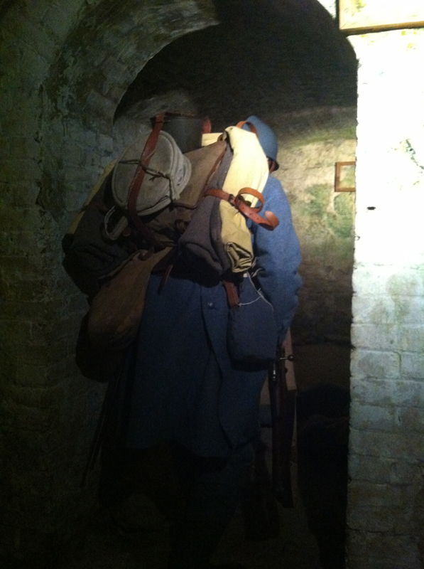 In the subterranean passages of Fort Mifflin, March 2013.