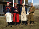 Members of the 3e RMZT, Fort Mifflin, March 2014