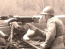 Machine-gunners of the 18 R.I. waiting for the enemy infantry attack, April 2008.