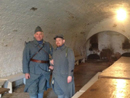 Cpl. Picard and Sdt. Croissant, Fort Mifflin, March 2012.