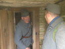 Sdt. Croissant surprises Cpl. Picard, Cpl. Picard, Fort Mifflin, March 2012.