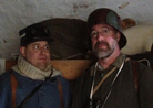 You never know when they might invade your country...or your bunk space! Fort Mifflin, March 2013.