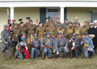 With our British, Canadian, American and (even) German friends at the WWI Weekend at Fort Mifflin, March 2013.