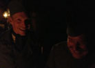 Sdt. Nicolas and Cpl. Picard sharing a laugh, Newville, November 2013.